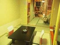 海側☆露天風呂付客室【こでまり】1階・和室7.5畳+マッサージチェアー付(イメージ)