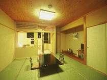 ●眺望【海】半露天風呂付客室【すずらん・陶器風呂】2階・和室10帖(イメージ)
