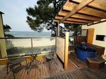 【ふくじゅそう】◆温泉◆DX露天風呂付客室(イメージ・部屋確約不可)日本海を望める開放的な空間に癒される