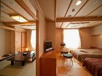 ●和洋室【Atype】・和室6畳+ツインベット(イメージ)