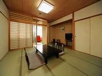 ●海側☆半露天風呂付客室(イメージ)2階・和室10畳・陶器風呂(イメージ)