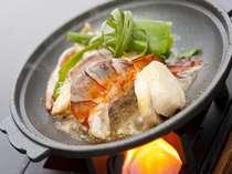 お好み☆ダブルチョイスプラン/帆立・海老・烏賊の海鮮陶板焼き(一例)