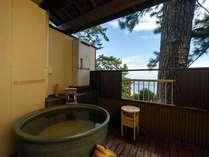 海側保証☆露天風呂付客室【ききょう/3階・6帖】(イメージ)