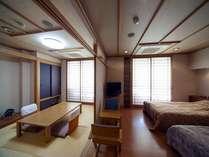 ◆和洋室(イメージ)/和の安らぎと洋の落ち着いた雰囲気が人気【Btype】・和室6畳+ツインベット(イメージ)