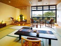 ●【DX和風モダン客室・14帖】広々とした空間でゆったり過ごす、寛ぎの時間を(イメージ)