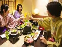 ■夕食個室処(イメージ)大切な仲間と会話もはずむお食事