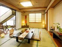 ■最上階・露天風呂付客室【10帖+6帖】(イメージ)