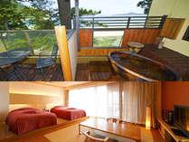 ●◆海側☆DX露天付風呂客室-さざんか-◆(イメージ)