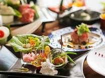 ■基本会席・藤花■美味しい食材をたっぷり使った、料理人のこだわりあふれる和創作会席