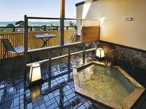 ●【わすれなぐさ】露天風呂付客室(イメージ・お部屋の確約は不可)六角形のデザインが特徴の露天風呂