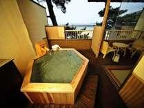 【はぎ】◆温泉◆ICHIRIN☆DX露天風呂付客室(イメージ)青い海・潮風に癒されながら大切な方とお寛ぎ下さい