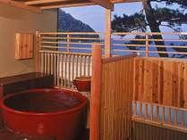 ■ICHIRIN☆DX露天風呂付客室【つばき/4階・陶器風呂】(イメージ)/最上階からみる日本海に癒されて