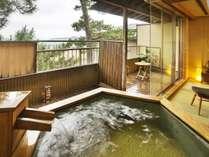 【はぎ】◆温泉◆ICHIRIN*DX露天風呂付客室(イメージ)波の音・潮風を感じながら温泉で湯ったり気分を