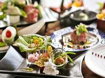 ■美味しい食材をたっぷり使った、料理人のこだわりあふれる和創作会席(イメージ)
