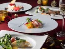 箱根ホテル自慢のフランス料理。12/1~25はクリスマスディナーをご用意しております!