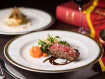"""箱根ホテル自慢のフランス料理。12/26~2/28のメニューテーマは""""クラシックフレンチ""""です。"""