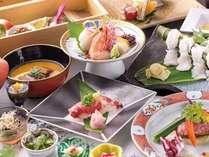 阿蘇の季節の食材をふんだんに使った料理の数々をご堪能ください。