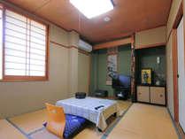 やっぱり和室が好き♪一人旅もOKの6畳和室!