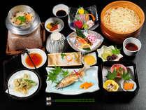 徳島の幸満載の会席料理♪