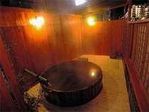 [写真]貸切露天風呂(このお風呂で生ビール等が飲めます)