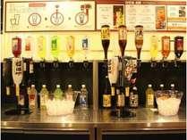 夕食バイキング飲み放題日本酒・カクテルなども取り揃えております♪