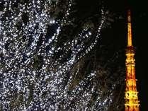 □クリスマスイルミネーション