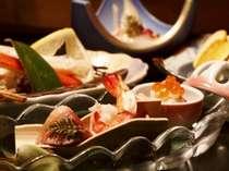 海の幸を満喫!地魚皿盛り、海鮮しゃぶしゃぶプラン【貸切風呂無料】