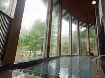 【大浴場「樹林の湯」】殿方浴場