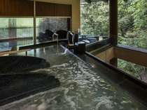 【樹林の湯】婦人大浴場(露天風呂)