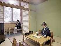 スタンダードな和室です。のんびりできますよ~