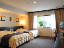 【メープルデラックスツイン】約46平米 カップルやビジネス利用にもオススメのお部屋です。