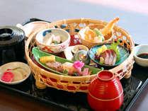 【華かご膳】季節の味が楽しめる★人気のランチメニュー