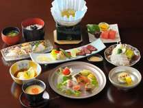 ◆定番◆季節の創作和食【喜楽】コース1泊2食♪外湯入浴券無料特典付