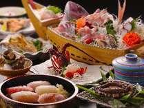 南房総の宿だから、鮮度抜群!季節を彩る、ことぶきこだわりのすし割烹をお楽しみください※料理一例