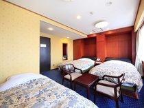 ◆◇3名様で1室利用◇トリプルルーム《素泊まり》プラン◆