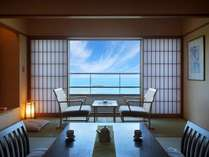 2F 展望風呂付和洋室(海側10畳+8畳)