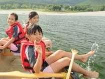 ♪かなやま湖カヌー&フルコースディナー♪