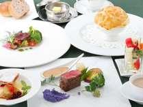 地元・近郊食材を沢山使用したオリジナルフルコースディナー(一例)