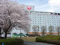 成田国際空港まで車で約10分と好立地なホテル日航成田