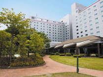 新緑が香る清々しさに溢れたガーデン,千葉県,ホテル日航成田