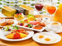 「好きなものを 好きなだけ」朝食を食べて元気な1日をスタート!(イメージ)