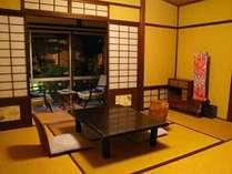 おまかせ和室(一例)。落ち着いた印象で、ゆっくりとお寛ぎ頂けます♪