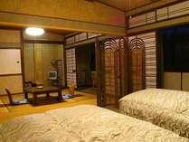 おまかせ和洋室の一例です。こちらは和室との仕切りがないタイプのお部屋♪ゆったり♪