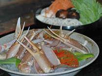 鮮度がいい蟹を贅沢にお鍋に。旬の野菜も美味しくなります