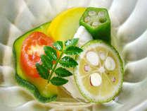 【お料理一例】見た目も鮮やかなお料理jは目と舌で存分に味わってくださいね。