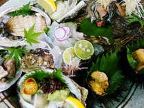 【お料理一例】夏の丹後の味が満載!!何が出るかは当日までのお楽しみ♪