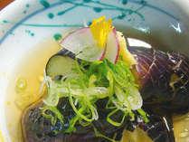 【夏のお料理一例】茄子の揚げ出し