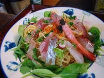 【お料理一例】海の幸の冷たいパスタ