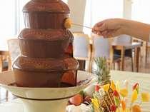 お子様に大人気!チョコレートファウンテン