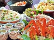 北海蟹フェア開催!蟹や伊豆熱海の食材をふんだんに使用したバイキング
